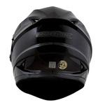 CAPACETE NORISK SOUL FF302 MONOCOLOR BLACK