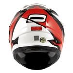 CAPACETE NORISK SOUL FF302 RIDIC BLACK/WHITE/RED