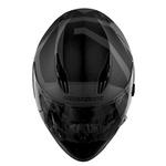 CAPACETE NORISK SOUL FF302 RIDIC MATT BLACK/GREY
