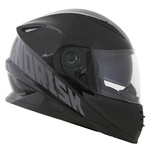 CAPACETE NORISK SOUL FF302 STONE BLACK/GREY