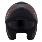 CAPACETE NORISK FORCE SIMPLICITY MATT ANTHRACITE/RED