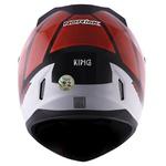 CAPACETE NORISK STUNT FF391 KING BLACK/RED/WHITE