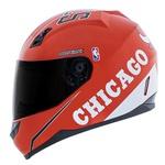 CAPACETE NORISK STUNT CHICAGO BULLS RED