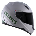 CAPACETE NORISK STUNT CHICAGO BOSTON CELTICS SILVER