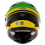 CAPACETE NORISK SOUL FF302 CHAMPION YELLOW/GREEN