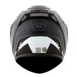 CAPACETE NORISK ROUTE FF345 STROKE MATTE BLACK/WHITE