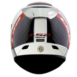 CAPACETE LS2 ARROW INDY CARBON/CHROME