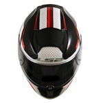 CAPACETE LS2 VECTOR FAVORER BLACK/WHITE/RED