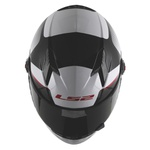 CAPACETE LS2 CLASSIC TYRELL WHITE/BLACK