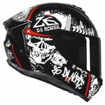 CAPACETE AXXIS DRAKEN 26 DA NORTE NEW GLOSS BLACK