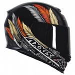 CAPACETE AXXIS EAGLE DREAMS GLOSS OCRE HD