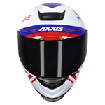 CAPACETE AXXIS EAGLE INDEPENDENCE GLOSS WHITE