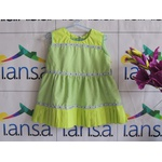 Vestido Infantil Verde