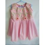 Vestido Infantil Rosa