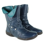 Bota em Couro Vitore Navy J.Gean Outlet