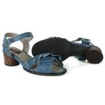 Sandália em Couro Lolla Baixa Indigo J.Gean Outlet