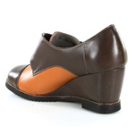 Sapato em Couro Susan Anabela Alto Coffe J.Gean Outlet