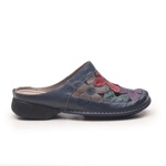 Sapatilha New Exclusiva Em Couro Navy J.Gean