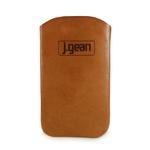 Porta Celular 100% Em Couro Tangerina J.Gean