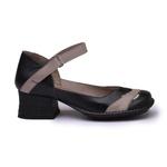 Sapato New Kelly Preto Em Couro J.Gean