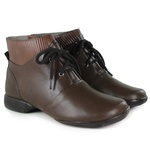 Bota Em Couro Exclusiva Coffee J.Gean Outlet
