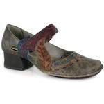 Sapato Em Couro New Kelly Café J.Gean OUTLET