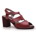 Sandália Giovana Rouge + Bolsa de Mão Rouge J.Gean