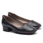 Sapato New Mariah Preto Em Couro J.Gean