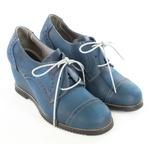 Sapato em Couro Susan Anabela Alto Safira J.Gean Outlet