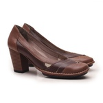 Sapato Ibizza Em Couro Amêndoa J.Gean Outlet