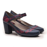 Sapato Ibizza Em Couro Navy J.Gean Outlet