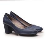 Sapato Ibizza Em Couro Marinho J.Gean Outlet