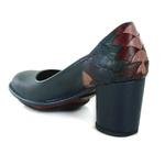 Sapato Em Couro Lolla Alto Navy J.Gean