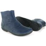 Bota Em Couro Lock Confort Blue J.Gean OUTLET