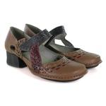 Sapato New Kelly Em Couro Amêndoa J.Gean