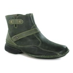 Bota New Exclusiva Oliva Em Couro J.Gean OUTLET