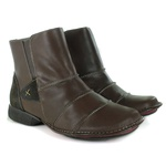 Bota New Exclusiva Em Couro Coffee J.Gean Outlet