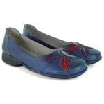 Sapatilha New Exclusiva Blue Em Couro J.Gean