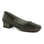Sapato New Mariah Café Em Couro J.Gean OUTLET
