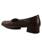 Sapato New Mariah Em Couro Coffee J.Gean