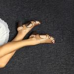 Sandália Giorgia Em Couro Nude J.Gean