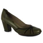 Sapato Ibizza Em Couro Oliva J.Gean
