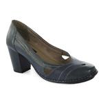 Sapato Ibizza Em Couro Navy J.Gean