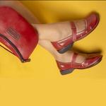 Sapatilha New Exclusiva Rouge Em Couro J.Gean