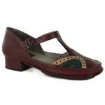 Sapato New Mariah Vermelho Em Couro J.Gean Outlet