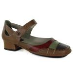 Sapato New Mariah Amêndoa Em Couro J.Gean OUTLET