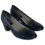 Sapato Ibizza Em Couro Marinho J.Gean