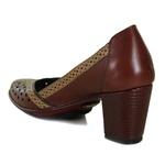 Sapato Ibizza Em Couro Vermelho J.Gean
