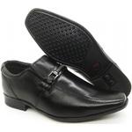 Calçado Masculino Sapato Social Em Couro Kéffor Cor Preto Linha Berlim