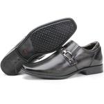 Calçado Sapato Social Masculino Em Couro Cinza Escuro Kéffor Berlim